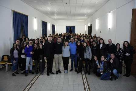 Incontro degli educatori con Luca Marcelli
