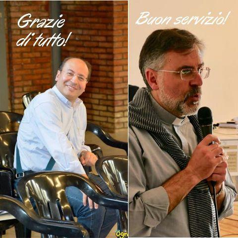 Don Alessandro Valentino e don Luigi Vitale
