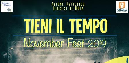 Locandina November fest Giovanissimi