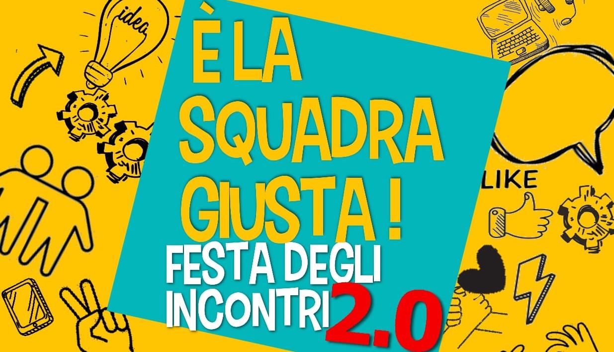 Locandina festa incontri 2.0